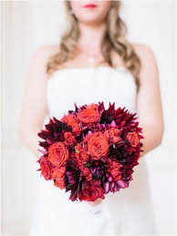 Red Wedding Bouquets 20 Best Wedding Bouquets In France