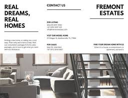 mac brochure templates white minimal real estate trifold brochure templates by canva