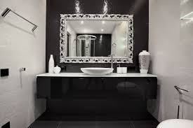 Bathroom With Shelves by Bathroom Set Bathroom Beautiful Twin Mirrors With Shelves In The