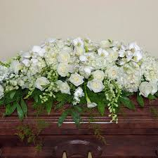 casket flowers closed casket spray funeral and memorial services flowers