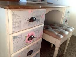 Pine Changing Table by Decoupage Solid Pine Dressing Table Annie Sloan Chalk Paint Www