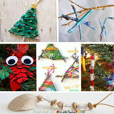 10 ornament nature crafts to make with