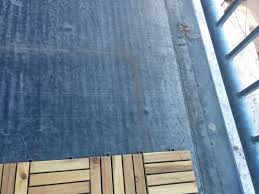 deck what of patio flooring is safe to use on top of a