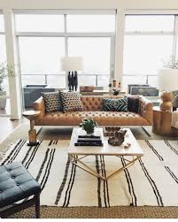 Modern Living Room Ideas With Brown Leather Sofa Living Room Farmhouse Living Rooms Sofas Small Room