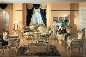 fancy victorian style living room for your home designing