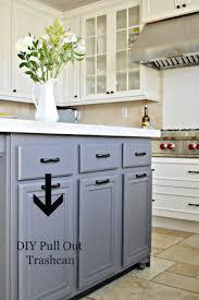 kitchen impressive tilt out trash can cabinet portable narrow
