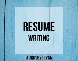 Resume Writing Business Resume Writing Etsy