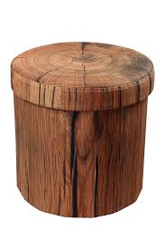 Printed Storage Ottoman with Sorbus Foldable Printed Round Storage Ottoman Tree Stump