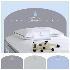 chambre timeo tête de lit timéo personnalisable lili pouce stickers