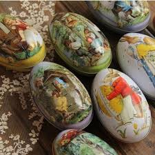 cheap easter eggs easter eggs with rabbit and chicken pattern egg box for candy and