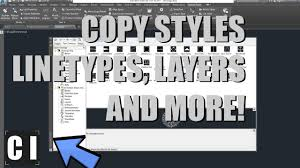 autocad design center copy styles linetypes blocks from one autocad design center copy styles linetypes blocks from one drawing to another
