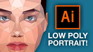 tutorial illustrator italiano illustrator tutorial low poly portrait youtube