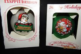 2 cbell soup ornaments about junk rats attic