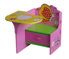 Children Chair Desk Chair With Desk Attached Armless Wooden Chair Along Tiered