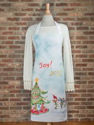elves apron linens u0026 kitchen aprons ovenmitts