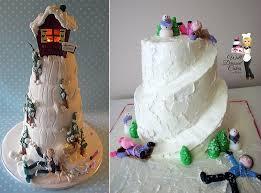novelty wedding cakes novelty winter wedding cakes cake magazine