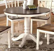 Round Dining Room Sets With Leaf Large Round White Dining Table U2013 Rhawker Design
