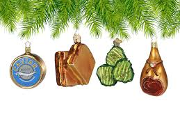 food themed christmas ornaments have zero calories and oodles of