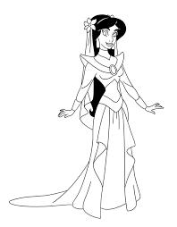jasmine u0027s wedding dress chainedname deviantart
