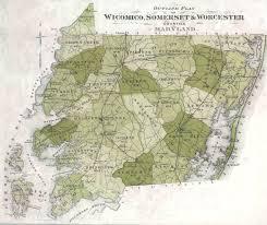 Md County Map Handley U0027s Eastern Shore Maps