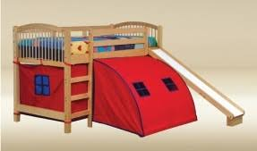 Bunk Bed With Slide And Tent Bunk Bed With Slide And Tent Foter