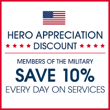 10 off any service for military offers signature style salons