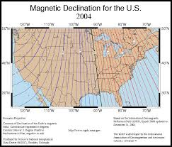 magnetic declination map find your declination adjustment value