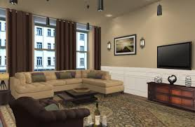 contemporary living room furniture living room beautiful brown white colour combination