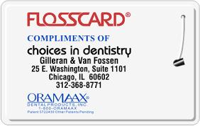 Dental Hygienist Business Cards Dental Business Floss Card Png