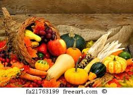 free thanksgiving cornucopia prints and wall freeart