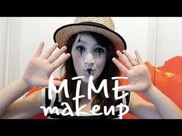Mime Halloween Costumes Mime Makeup Halloween Mime Makeup