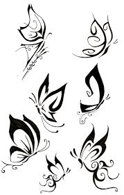 butterfly tribal designs best design