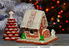 christmas gingerbread house christmas gingerbread house gingerbread stock
