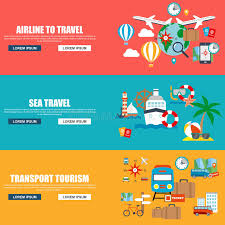 travel companies images Flat vector concept journey airline to travel sea travel jpg