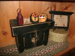 accessories gloss primitive dry sink with pine wood and chunky