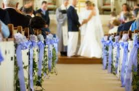 church pew wedding decorations find wedding planners select