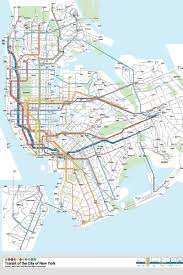 Map Of New York And Manhattan by This App Would Combine Nyc U0027s Subway And Bus Maps For First Time