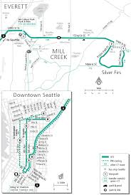 Bothell Washington Map by Schedules