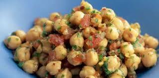 cuisiner des pois chiches pois chiches à l orientale facile et pas cher recette sur cuisine
