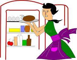 maman cuisine maman dans la cuisine illustration de vecteur illustration du