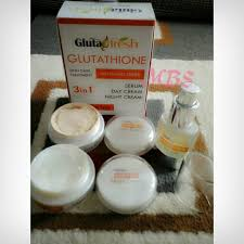 Gluta Fresh glutafresh gluta fresh glutathione whitening series 3 in 1