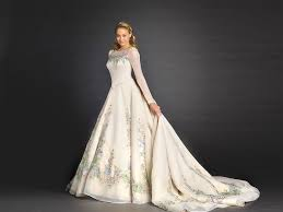fairytale inspired wedding dresses see the beautiful wedding dress inspired by disney s cinderella