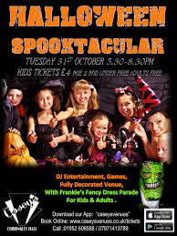 Halloween Books For Adults 2017 by Halloween Spooktacular Family Party 31 10 17 Casey U0027s Cordingley