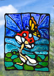 painting on glass windows black glue stained glass art adventure in a box