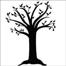 tree designs to trace