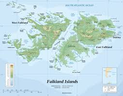 Physical Map South America by Maps Of Falkland Islands Malvinas Map Library Maps Of The World