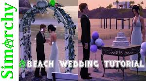 Wedding Cake In The Sims 4 How To Setup A Beach Wedding Build And Buy On Community Lot