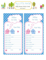baby advice cards baby shower advice cards for fraternal