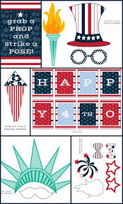 strike a pose photo booths podcast helping build 4th of july photo booth props free printable