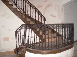 Iron Handrail For Stairs Stairs Astonishing Wrought Iron Rails Extraordinary Wrought Iron